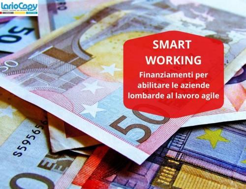 In arrivo agevolazioni per abilitare lo smart working in Lombardia