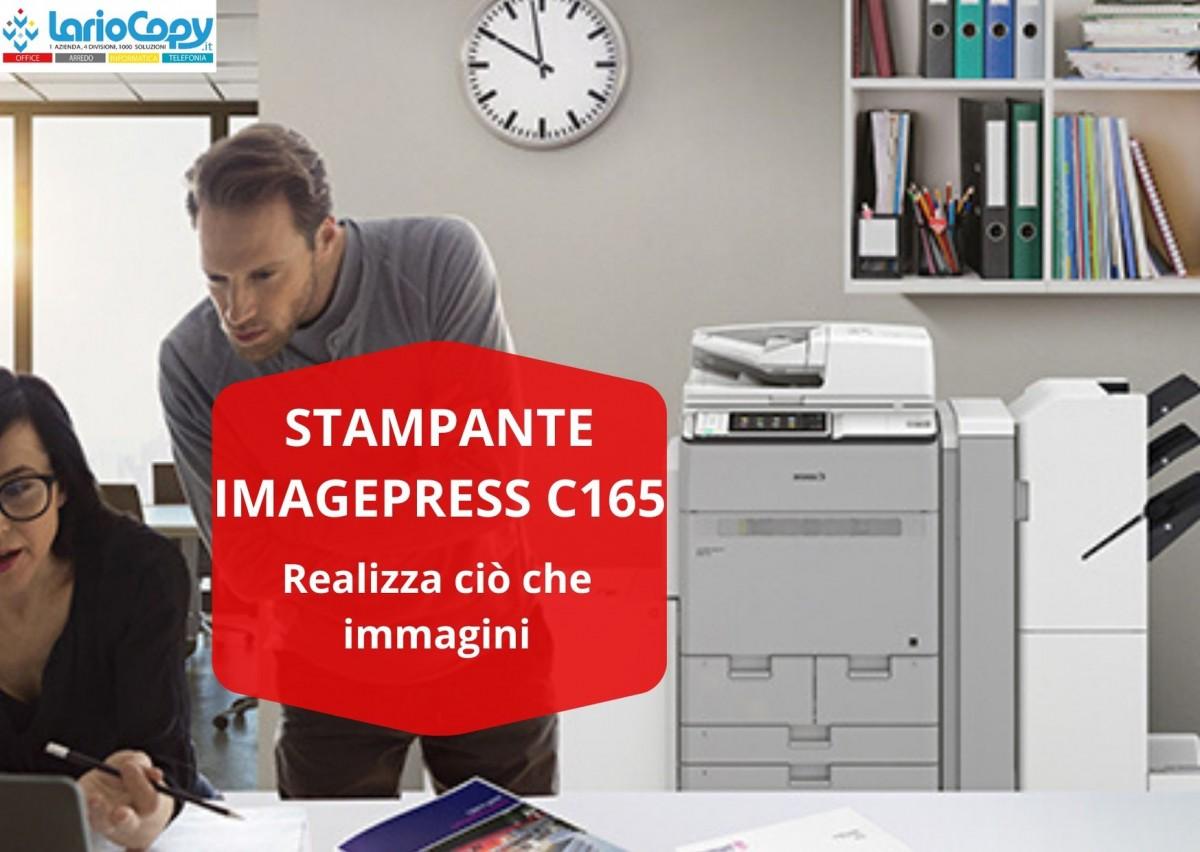 Stampante imagePRESS C165: realizza ciò che immagini